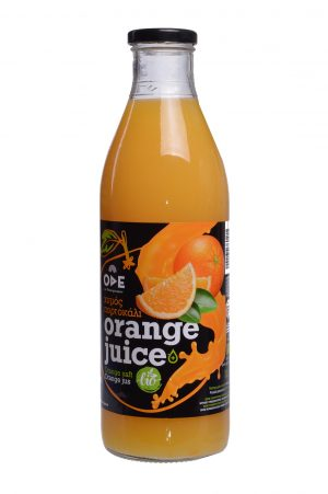 Βιολογικός χυμός πορτοκάλι 1 lit ωδη