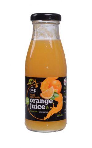 Βιολογικός χυμός πορτοκάλι 250 ml
