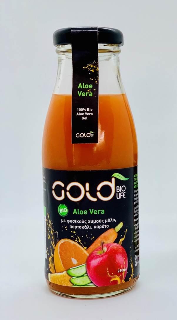Φυσικός Χυμός Φρούτων με Βιολογική Αλόη